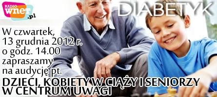 Audycja RadioWnet – Diabetyk na fali – 13.12.2012