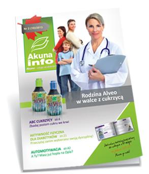 """Biuletyn informacyjny """"Akuna info"""" poświęcony diabetykom i problemowi cukrzycy"""