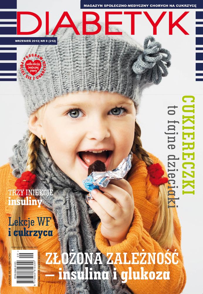 Miesięcznik Diabetyk, wrzesień 2013, nr 9 (212)