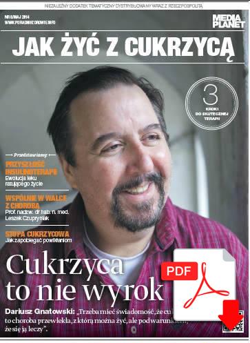 Publikacja JAK ŻYĆ Z CUKRZYCĄ już dziś w Rzeczpospolitej. Pobierz wersję on-line!