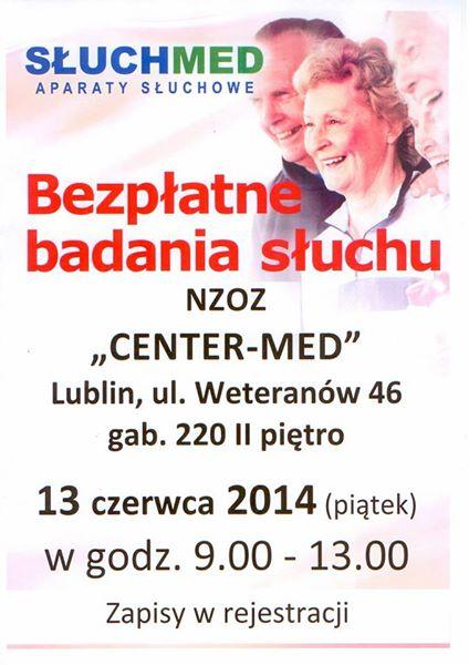 Bezpłatne badania słuchu. Lublin
