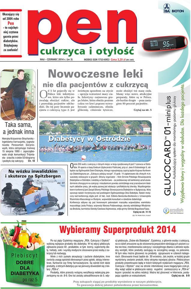 """Magazyn """"PEN. Cukrzyca i Otyłość"""" 3/2014"""